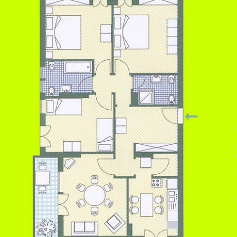 APARTMENT ONE MAP