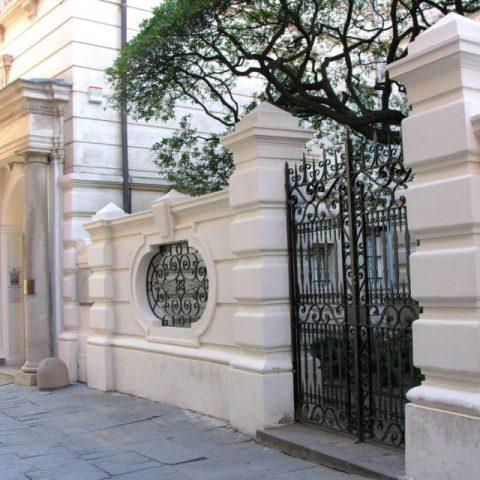Galleria Rizzi - particolare entrata
