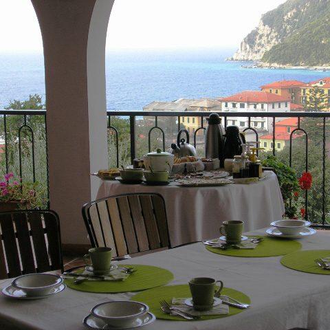 Villa Bardi colazione