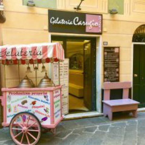 esterno gelateria - Alberto Borri