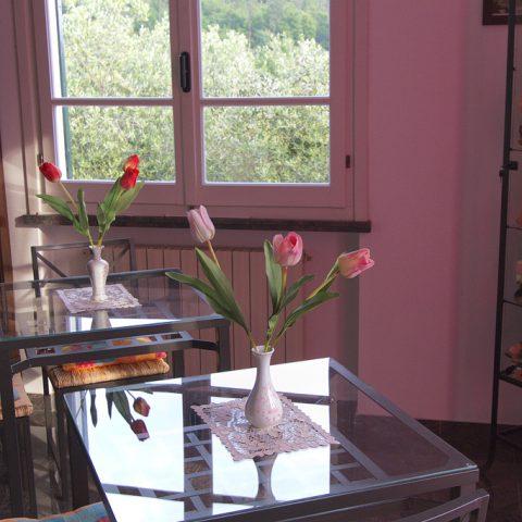 foto particolare sala colazioni