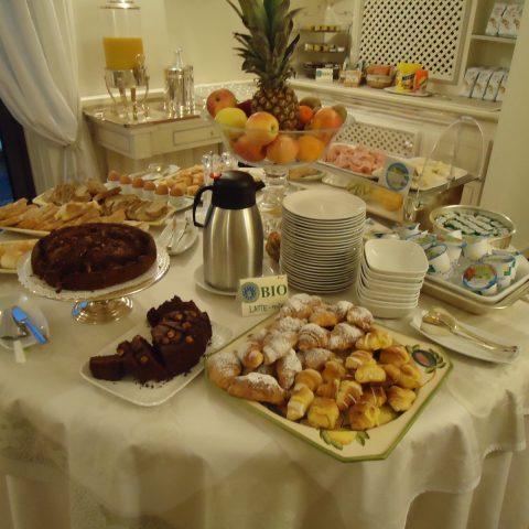 buffet colazioni - Villa Agnese