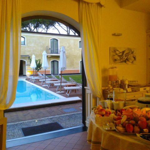 vista sala colazioni - Villa Agnese
