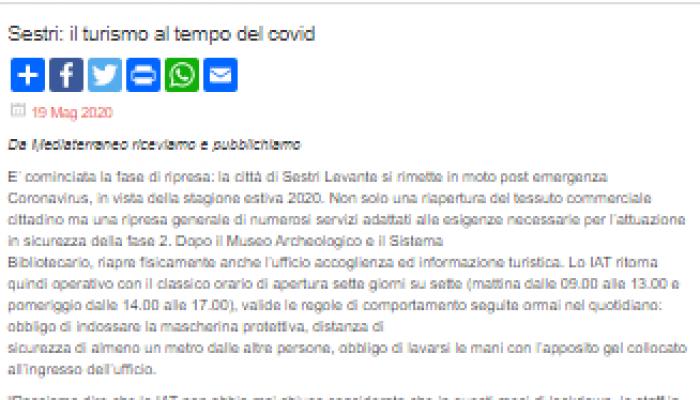 """""""Sestri Levante Bella e Sicura"""""""